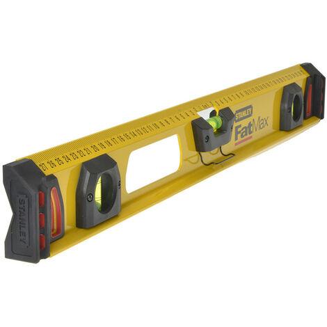 Stanley Tools STA143553 FatMax I-Beam Level 3 Vial 60cm