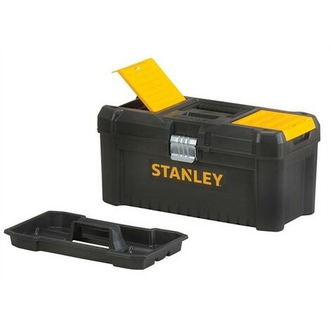 Stanley Tools STST1-75518 Basic Toolbox with Organiser Top 41cm 16in