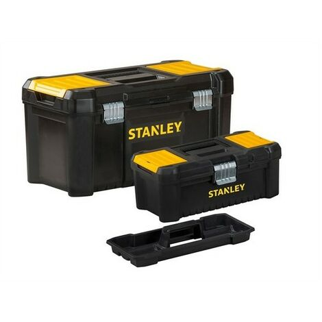 Stanley Tools STST1-75772 Essential Toolbox Bonus Pack 32cm & 48cm