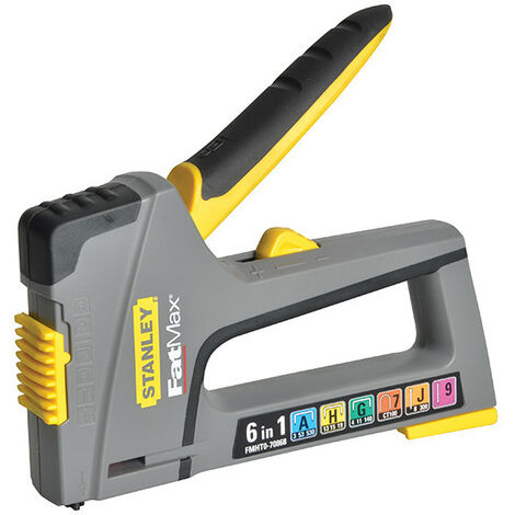 Stanley Tools TR75 6-in-1 FatMax Heavy-Duty Stapler & Nail Gun