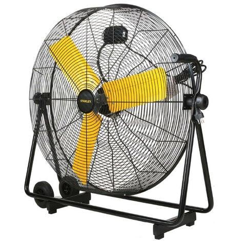 Stanley - Ventilateur 118W Coaxial 76 cm avec 3 pales aciers