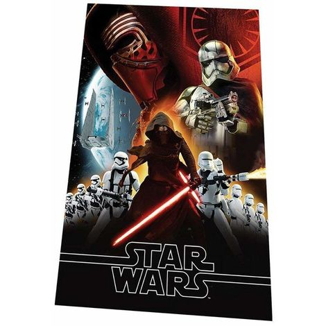 Star Wars Childrens/Kids Force Awakens Fleece Throw Blanket (One Size) (Black)