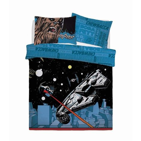 Star Wars Comic Pop Panel Duvet Cover Set