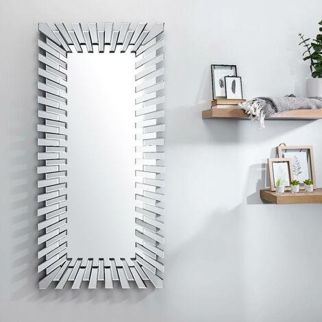 Starburst Large Rectangular Full Length Modern Mirror