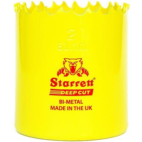 Starrett - Corona perforadora Deep cut