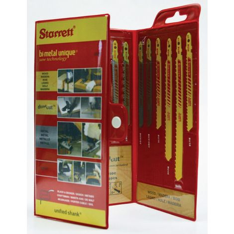 Starrett Jigsaw blade set KIT