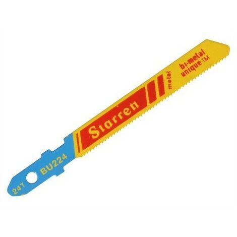 Starrett - Metal Cutting Jigsaw Blades (5) BU232-5 - STRBU2325