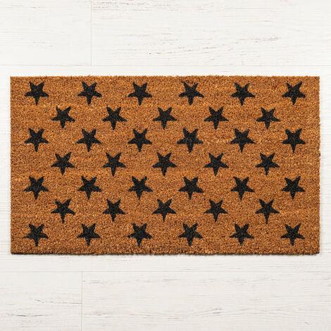 Starry Coir Door Mat - Large