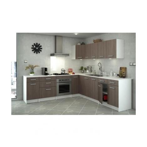 START Meuble de cuisine bas avec plan de travail L 80 cm ...