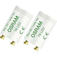 Starter de tube LED OSRAM SUBSTITUBE LED 4058075013681 230 V 2 pc(s)
