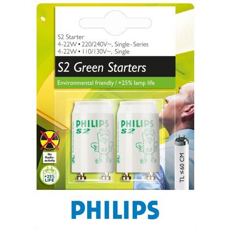 Starter électronic Philips - Starter 4-22 W - 4 - 22 W - Vendu par 2