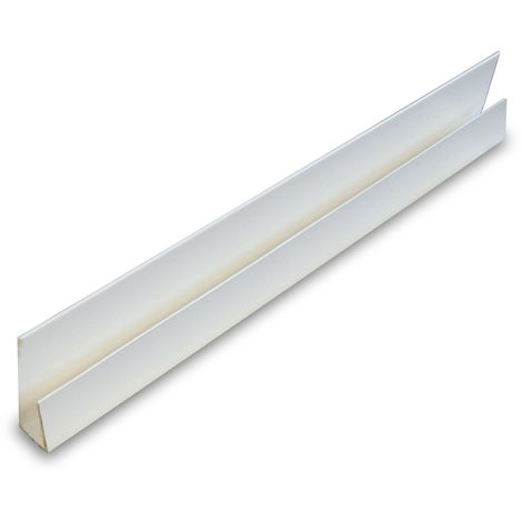 Starter/End 10mm White Trim 2400mm Length