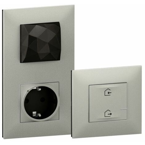 Starter Pack Legrand 741830 serie Valena Next with Netatmo color Aluminio