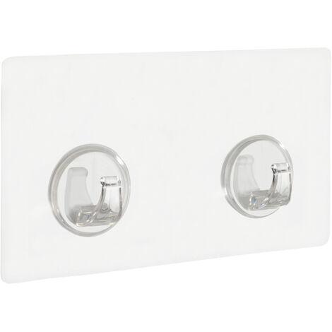 Static-Loc® Colgador con ganchos transparente