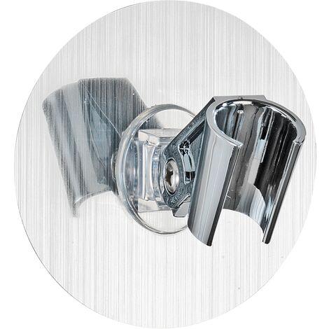 Static-Loc® support pommeau de douche mural sans perçage, adhésif, chrome WENKO