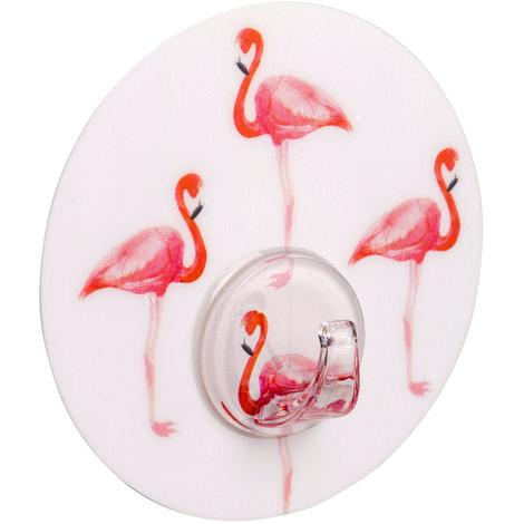 Static-Loc® Wandhaken Uno Flamingo Haken Badezimmer Haken Bad ...
