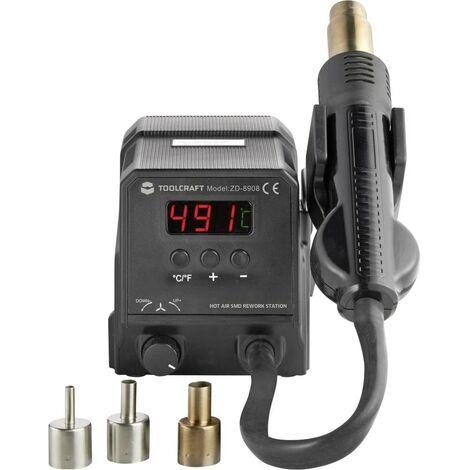 Station à air chaud numérique 300 W TOOLCRAFT ZD-8908 100 à 500 °C
