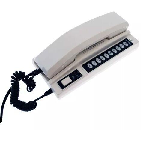 Station d'appel nouvelle génération additionnelle pour interphone de bureau sans-fil 300 mètres