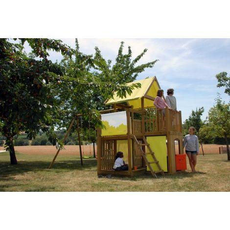 Station de jeu bois Chantilly
