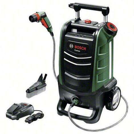 Station de lavage mobile avec batterie Bosch Home and Garden Fontus 06008B6000 12 bar à eau froide 1 pc(s)