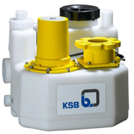 Station de relevage 150L KSB mini-Compacta UZ1150E 1,01 kW - Poste double eau chargée jusqu'à 25 m3/h monophasé 220V