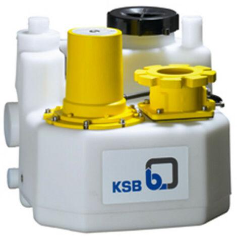 Station de relevage 150L KSB mini-Compacta UZS2150D 1,75 kW - Poste double avec broyeur eau chargée jusqu'à 15 m3/h triphasé 380V