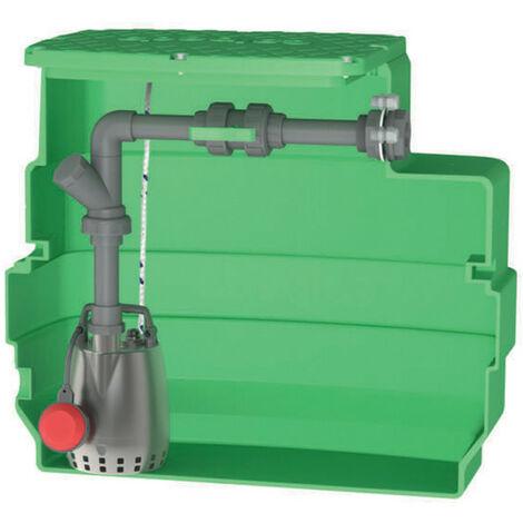 Station de relevage 230L Calpeda CAL230GXRM1013 0,45 kW eau légèrement chargée jusqu'à 13,2 m3/h monophasé 220V