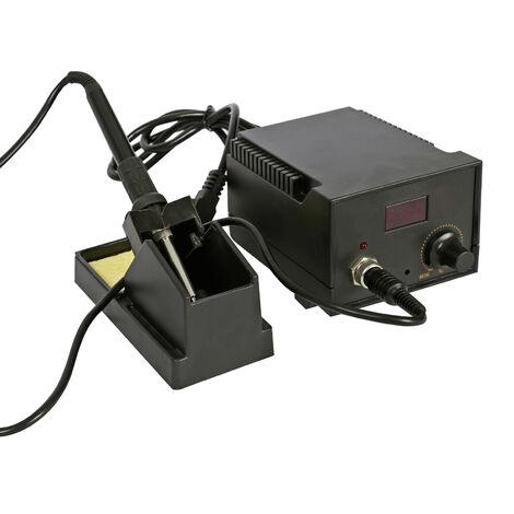 Station de soudage 220V / 40W max. 480�C Fer � souder Station de dessoudage Affichage LCD r�glable