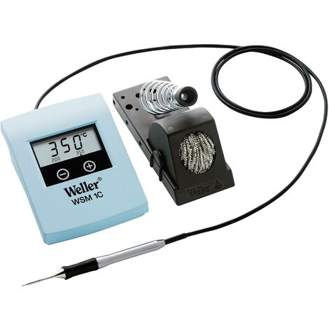 Station de soudage numérique Weller WSM 1C 50 W +100 à +400 °C fonctionnement à piles S66589