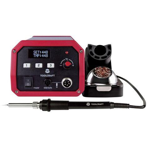 """main image of """"Station de soudage;TOOLCRAFT ST-100D numérique 100 W 150 - 450 °C avec panne à souder S898081"""""""