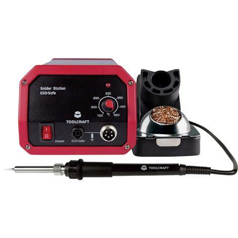 Station de soudage TOOLCRAFT ST-80A 1561692 analogique 80 W 150 à 450 °C avec panne à souder 1 pc(s) S898051