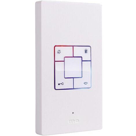Station intérieure dInterphone filaire m-e modern-electronics Vistus AD 400 blanc