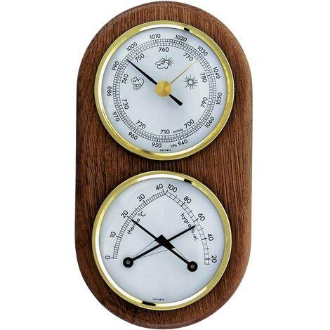 Station météo analogique analogique TFA 20.1051 chêne
