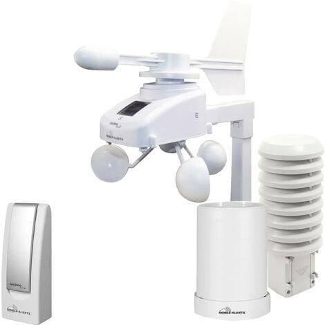 """main image of """"Station météo connectée numérique Techno Line Mobile Alerts MA 10061 Set blanc W012821"""""""