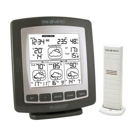 Station météo radiopilotée La Crosse Technology WD4601F-IT-MG-S