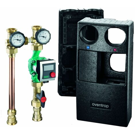 """Station pour le raccordement générateur de chaleur/circuit de chauffage - REGUMAT S-180 sans pompe - DN 25 - 1"""""""
