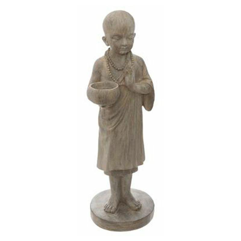 Statuette Déco Bouddha Debout 61cm Naturel