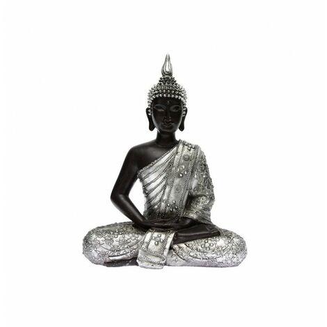 Statuette De Bouddha Assis En Lotus Hauteur 28 Cm Decoration D Interieur Zen