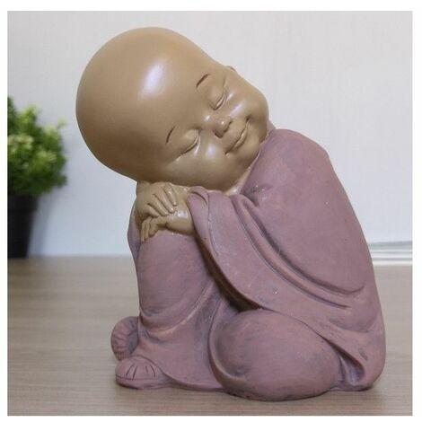 Statuette zen Bouddha 3 - L 11 x l 10 x H 12,3 cm