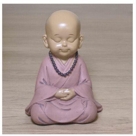 Statuette zen Bouddha 4 - L 8,4 x l 6,5 x H 10,5 cm