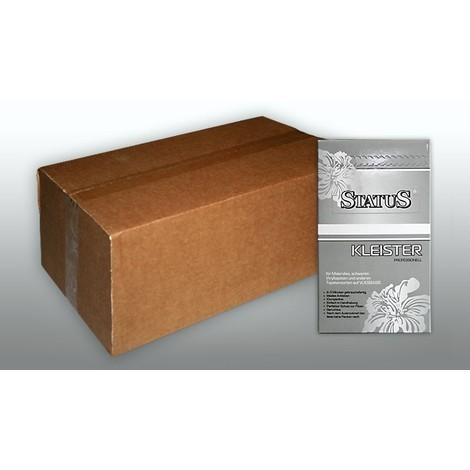 STATUS PROFI Pegamento en polvo para tejido no tejido engrudo de 5 kg para 700 m2 cola para 140 rollos (10m x 0,53m)