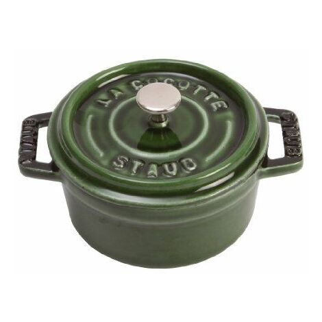 Staub 1101085 Mini Cocotte Ronde Basilic 10 Cm