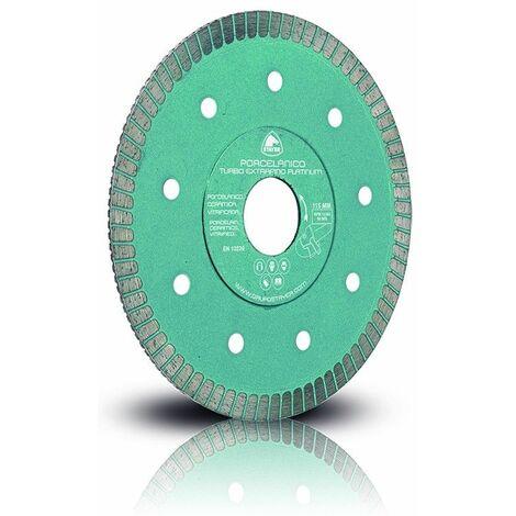 Stayer - Disco Turbo extrafino platinum, diamante porcelánico 125mm