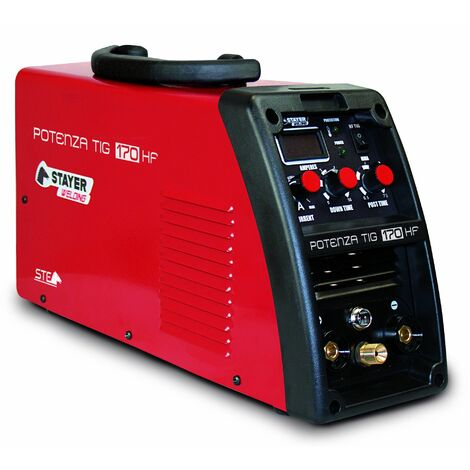 Stayer POTENZATIG170HF - INVERTER Soldadura TIG 170 (60%)