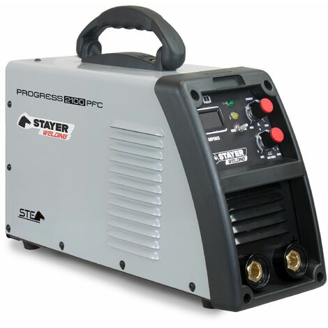 Stayer PROGRESS PFC - INVERTER MMA Soldadura por Electrodo PROGRESS 60%