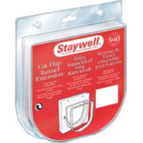 Staywell 900 Series Cat Door Extension Tunnel (One Size) (Clear)