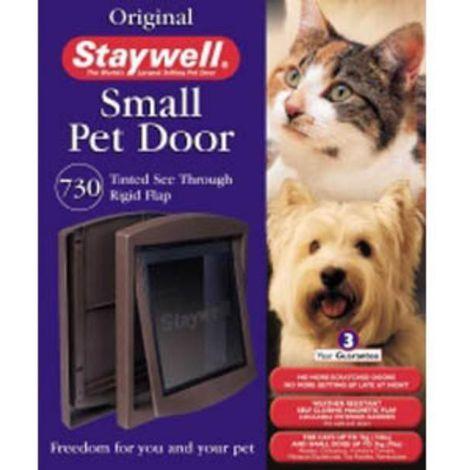 Staywell Lock 730 Pet Door (One Size) (Brown)