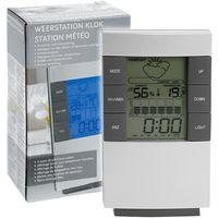 Stazione Meteo Wireless Senza Fili Con Orologio Temperatura Umidita' Meteo Data