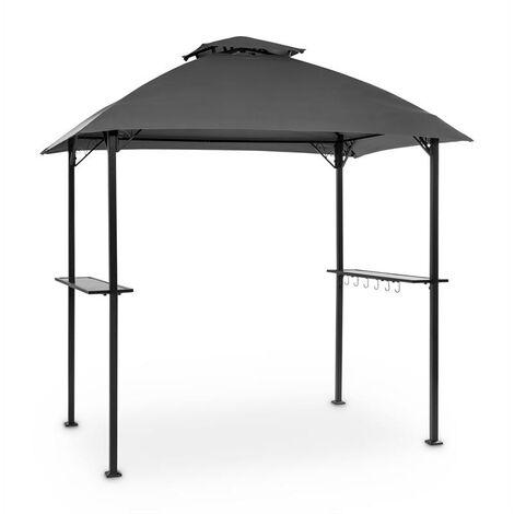 """main image of """"Steakhouse al Sur Pavilion 244x260x152cm 160 g Flame Retardant Steel Grey"""""""