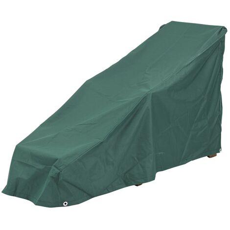 Steamer Lounger Weather Cover Fully Waterproof Dark Green
